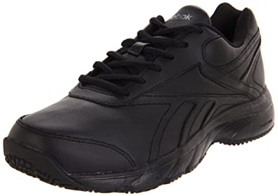 Reebok Women's Reeshift DMX Ride Wide D Walking Shoe,Black/Rivet Grey/Sun