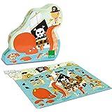 Vilac - 2612 - Puzzle En Bois - Pirates - 150 Pièces