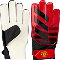 adidas Boys' Young Pro Manu Gloves, Real Red/White/Black(Red), 10(10)