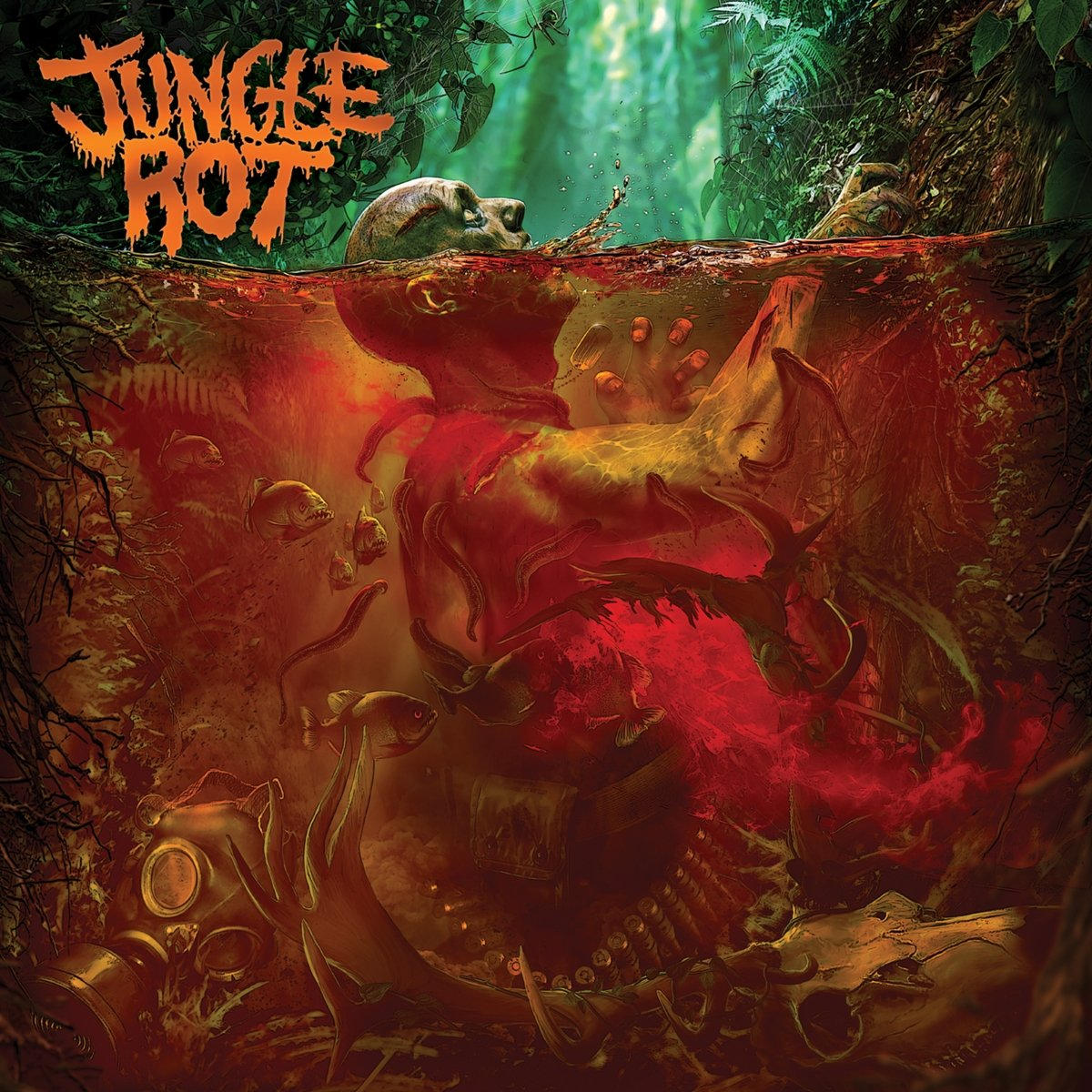 Vinilo : Jungle Rot - Jungle Rot (LP Vinyl)