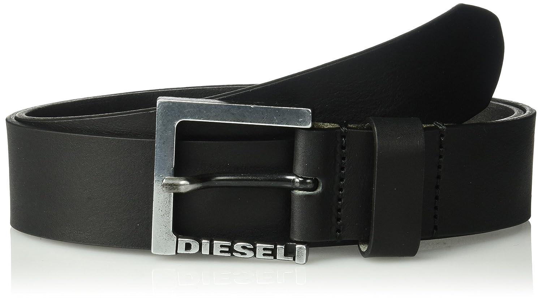 (ディーゼル) DIESELメンズ ベルト - B-STATE - belt B0741WCZ3X 100 ブラック ブラック 100