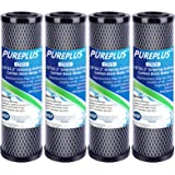 """1 Micron 2.5"""" x 10"""" Whole House CTO Carbon Water Filter Cartridge Replacement for Countertop Water Filter System, Dupont WFPF"""