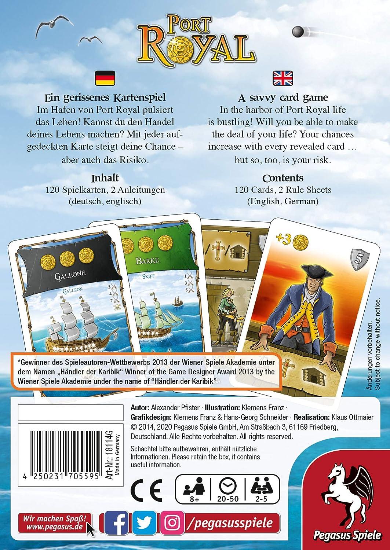 Pegasus Spiele, Juego de Cartas de 2 a 5 Jugadores: Amazon.es: Juguetes y juegos