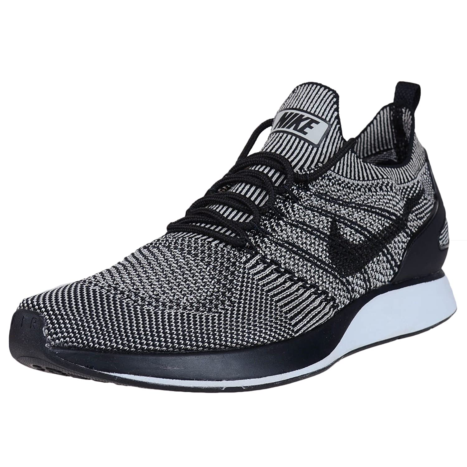 Nike Shoes Air Zoom Flyknit Racer 9 D(M) US|Pale Grey/Black-solar Red