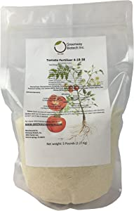 Tomato Fertilizer 4-18-38 Powder 100% Water Soluble Plus Micro Nutrients and Trace Minerals