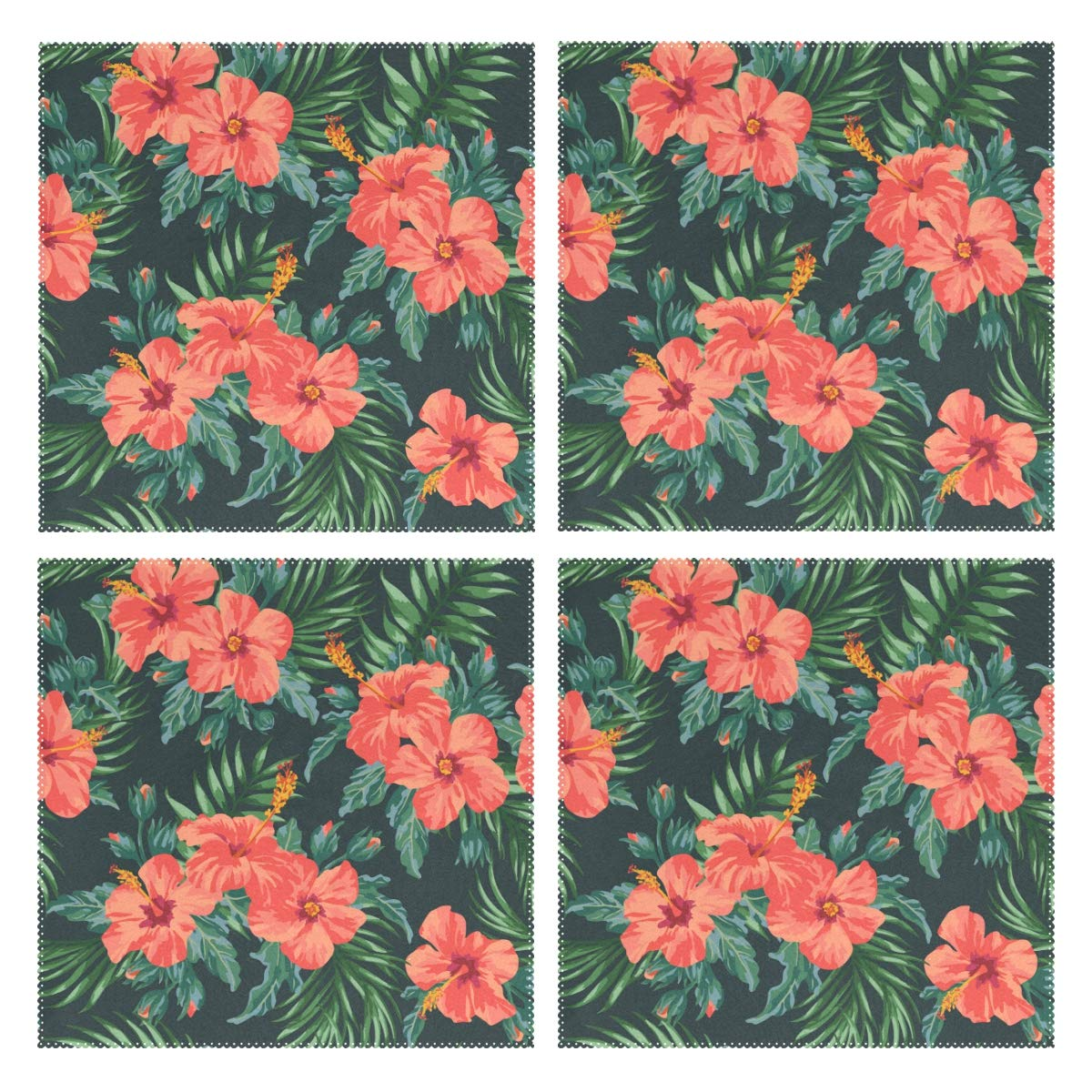 Amazoncom Humphy Albe 100 Polyester Green Mexican Hibiscus