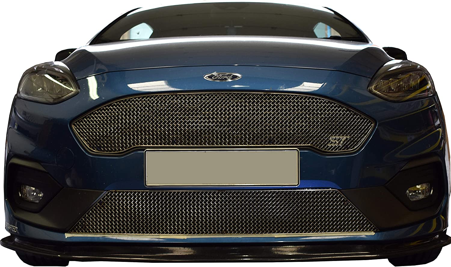 Ford Fiesta Mk8 2017 Front Bumper Grille Centre Lower Section High Quality New