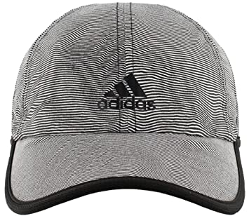 88e2b307 adidas Women's Superlite Pro Relaxed Performance Cap, Optic Stripe/Black,  One Size
