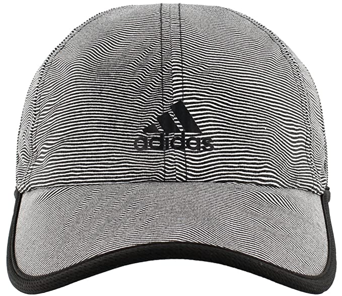 700ed718d0bac9 adidas Women's Superlite Pro Relaxed Performance Cap, Optic Stripe/Black,  One Size