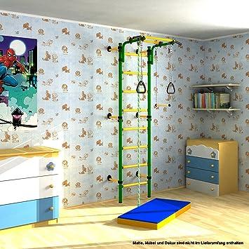 Indoor Klettergerüst für Kinder Sprossenwand Kletterwand für ...