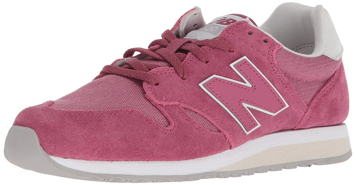 NewBalance Wl520 B Leather Textile Pu - cd dragon fruit Größe 11.5(43.5)