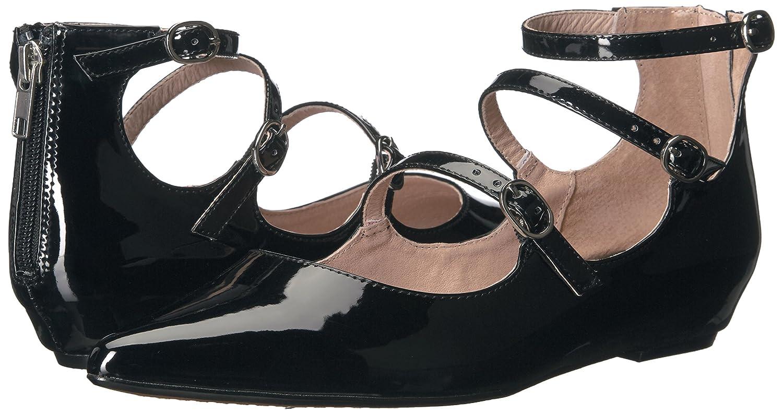 STEVEN by Steve Madden Women's Gantry Ballet Flat B01LZEG1D8 8.5 B(M) US|Black Patent