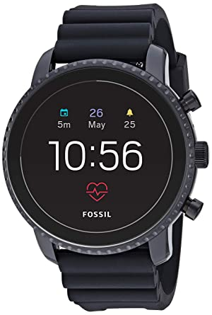 Amazon.com: Fossil Gen 4 Explorist HR Reloj inteligente con ...