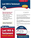 Adam Last Will & Testament Premium Collection, Forms and Instructions [CD and Downloadable] (LF235)