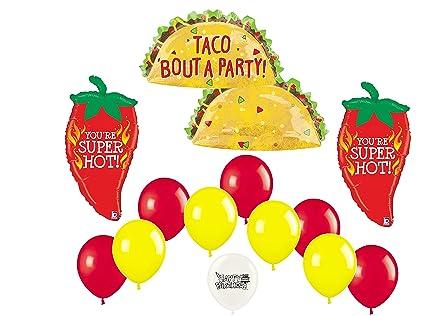 Amazon.com: Taco Bout una fiesta fiesta Chili Peppers 13 ...