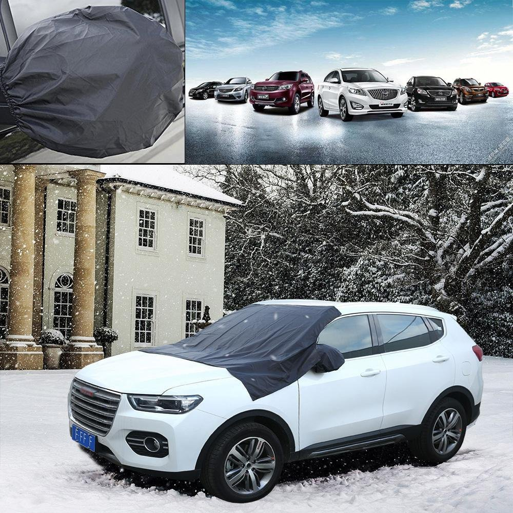 Windshield Snow Cover,niceeshop(TM) Magnetic Windshield Cover, Auto Front Sun Shade Protector Windscreen Protector with Mirror Protective Covers,Fits Most Car, SUV, Truck, Van