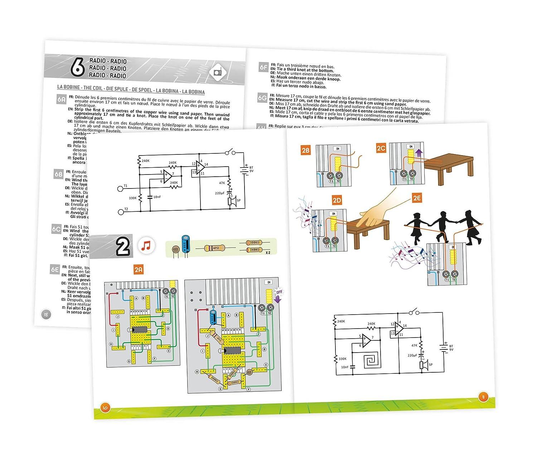 Buki France 7176 - Electronics lab: Amazon.co.uk: Toys & Games