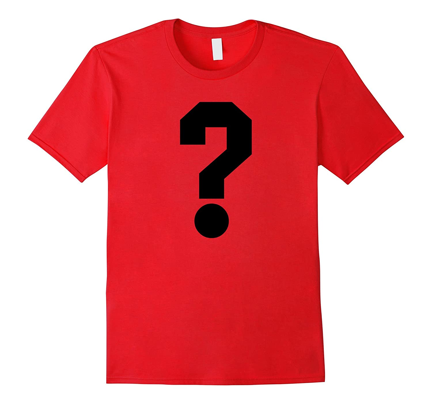 Question Mark T Shirt Who What Gifts For Men Women-Art