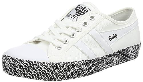 753632a7066a9 Amazon.com | Gola Women's Coaster Metric White 6 B US | Tennis ...