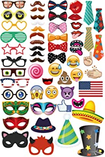 Amazon com: Emoji Photo Booth Props 27pcs + Black Paper Message