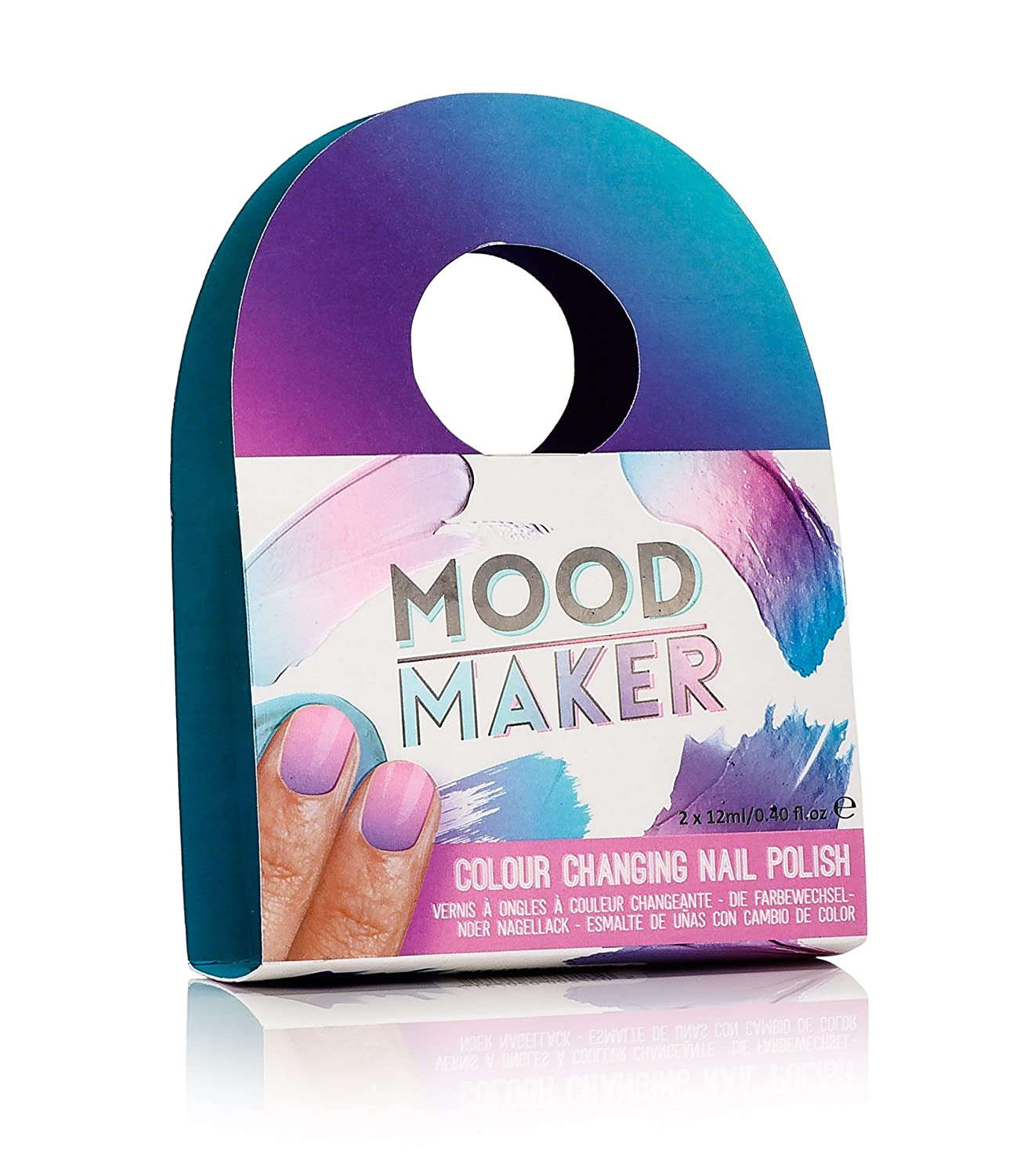 Mood Maker Colour Changing Nail Polish Purple: Amazon.co.uk: Beauty
