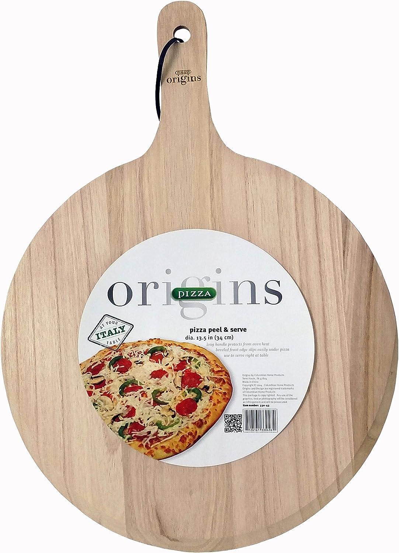 Italian Origins 330-43 Wood Pizza Peel 13 by 21-Inch