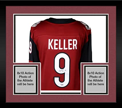 best website acdce b9454 Framed Clayton Keller Arizona Coyotes Autographed Red ...