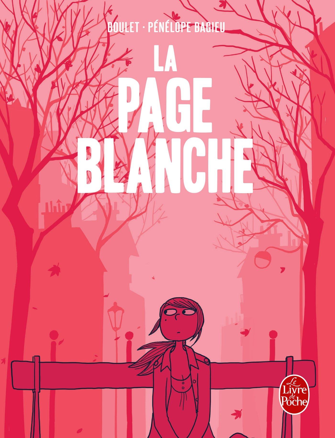 La page blanche de Pénélope Bagieu