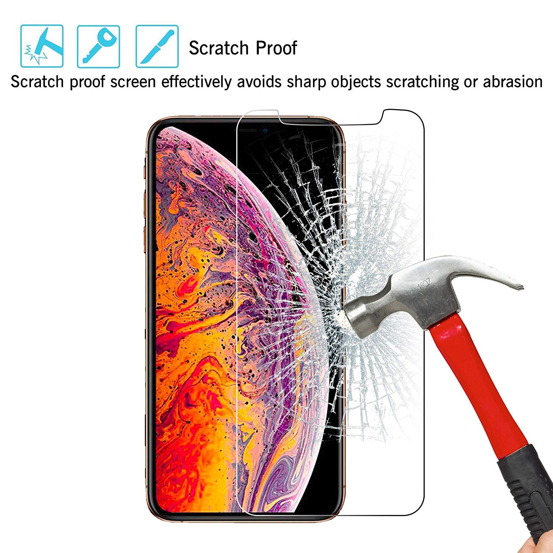 iLiebe iPhone XS/X Panzerglas Schutzfolie: Amazon.de: Elektronik