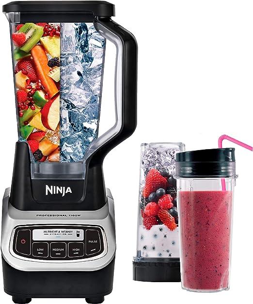 Amazon.com: Ninja BL621 Professional Blender & Nutri Ninja ...