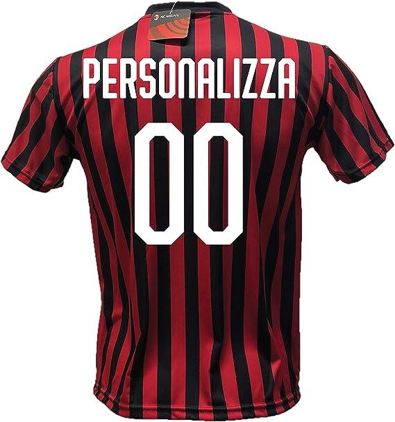 DND DAndófalo - Camiseta de fútbol Milan personalizable, réplica ...