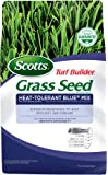 Scotts Turf Builder Grass Seed Heat-Tolerant Blue Mix For Tall Fescue Lawns, 20 lb. - Full Sun and Partial Shade - High…