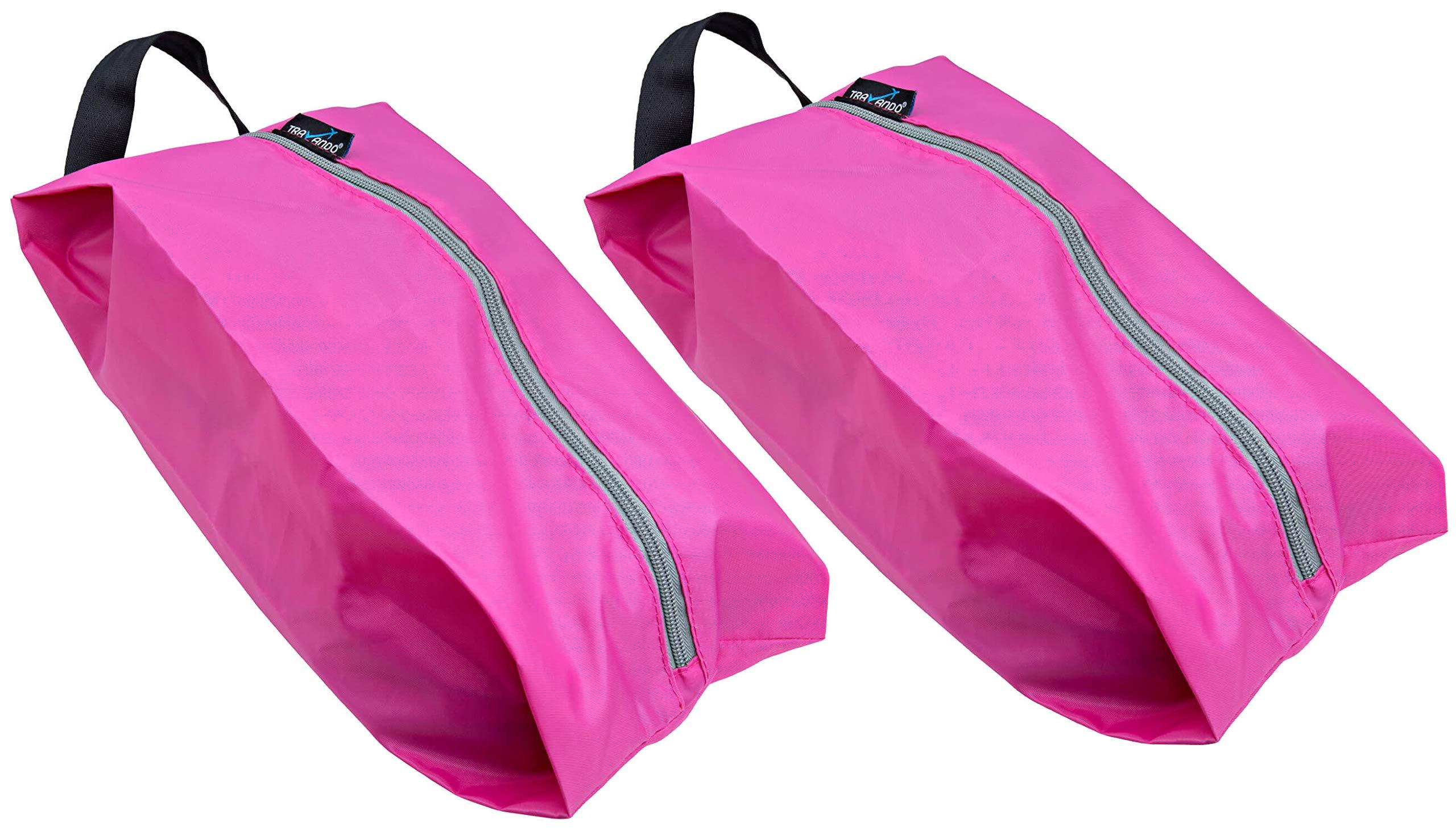 21fe9dd72ee8 Galleon - TRAVANDO Shoe Bag Set Of 2 | Travel Accessories Essentials ...