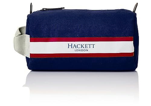 46d5a8c991 Hackett Mens Fawley Washbag Bag Organiser Blue (Navy)  Amazon.co.uk ...