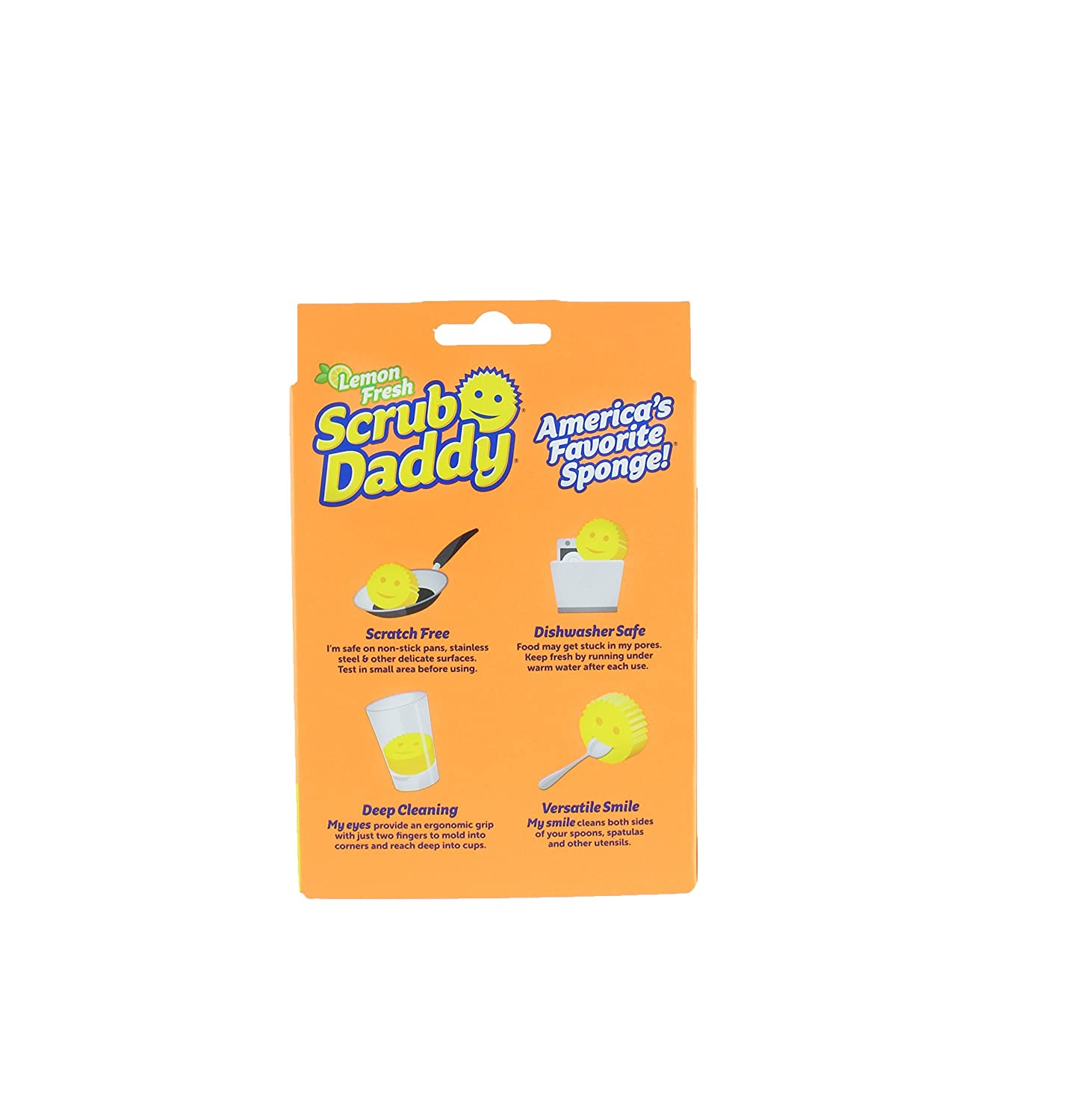 Washing up sponge Hygienic Scourer Odour Free Single, Green Scrub Daddy Scratch Free Texture Changing Doesnt Scratch Any Surface