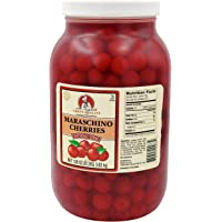 Chef's Quality Maraschino Cherries Without Stem, 128oz Container