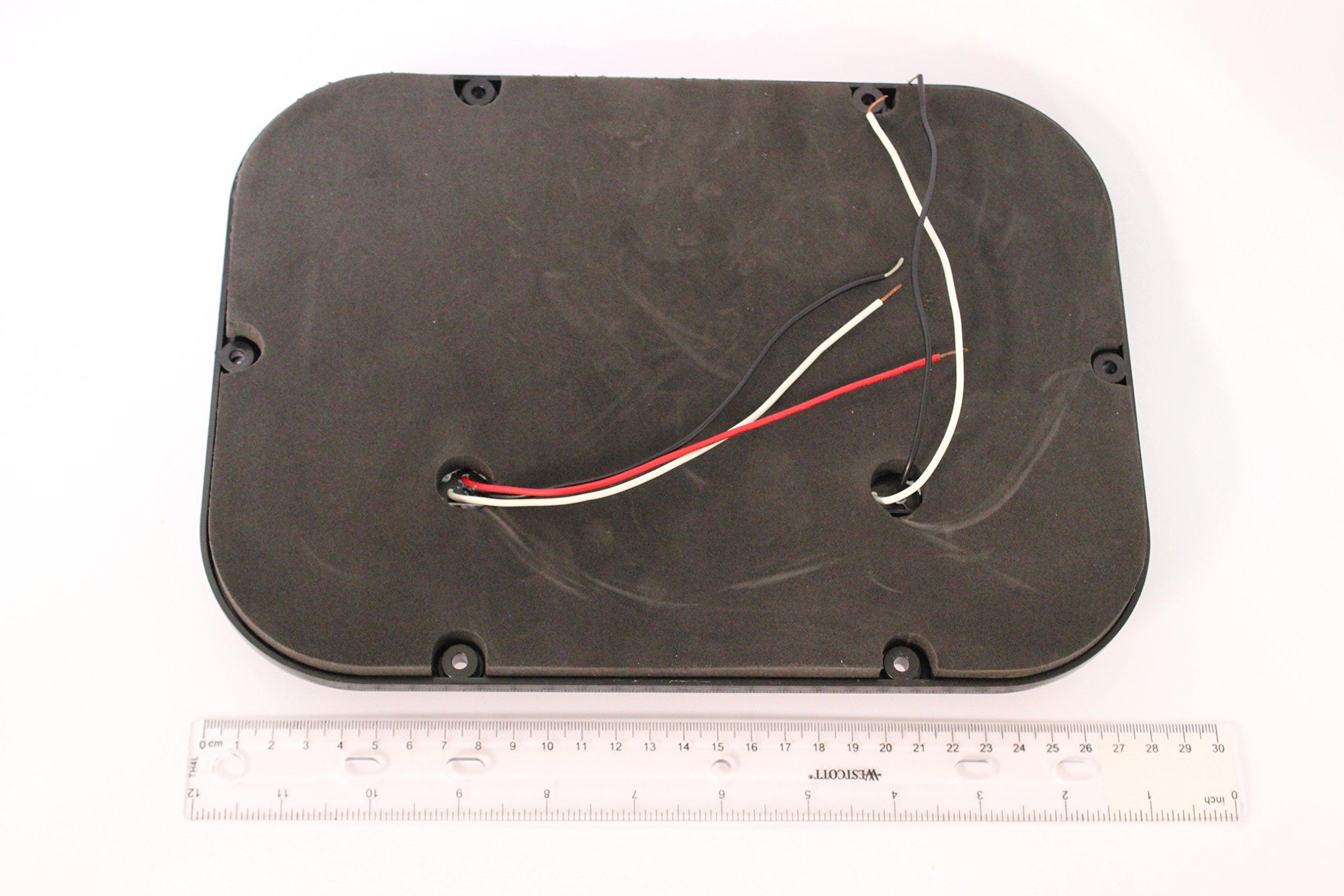 Kaper II L15-0088BLK Red Trailer Stop/Turn/Tail Light