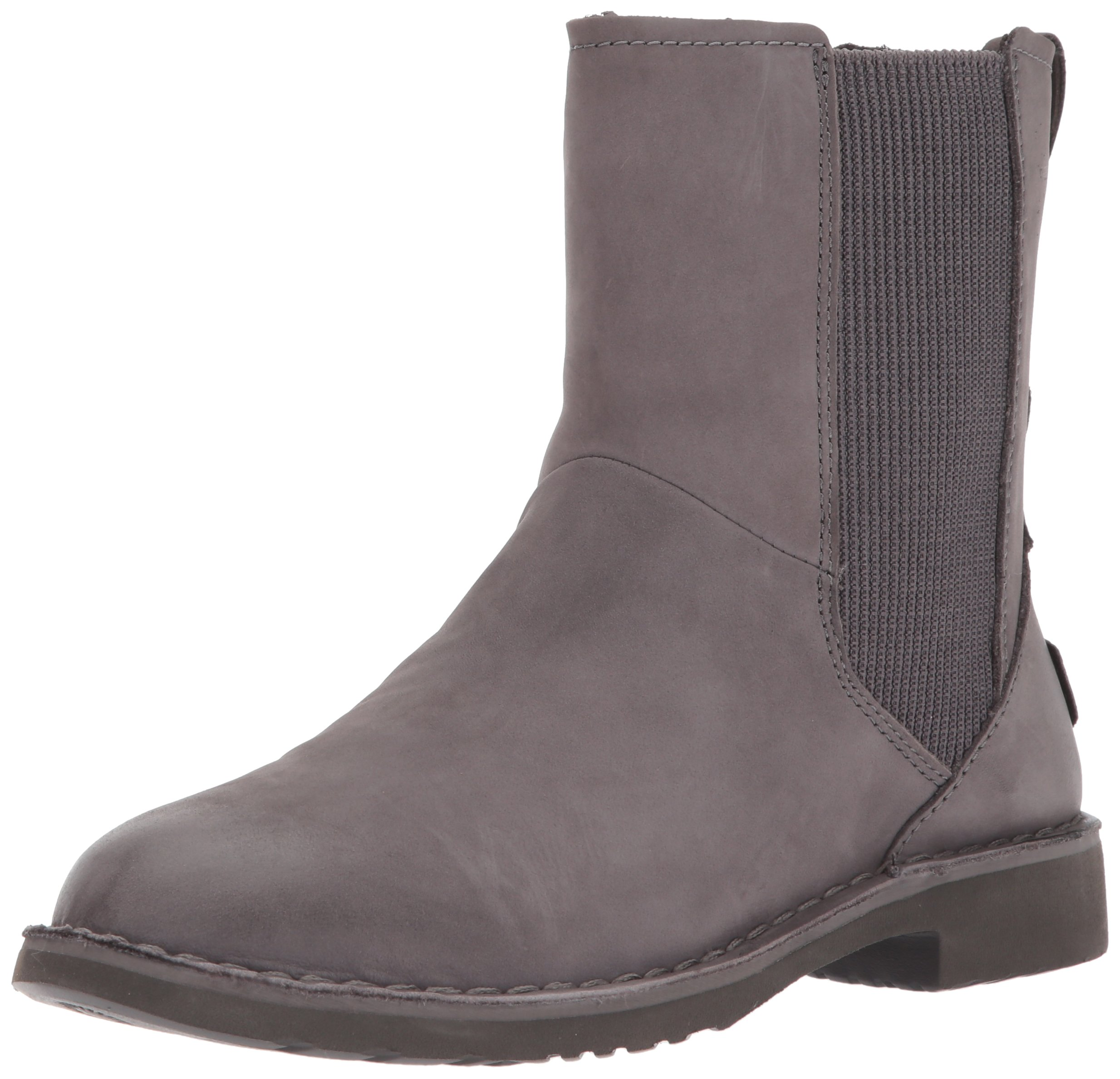 UGG Women's Larra Snow Boot, Charcoal, 8 M US