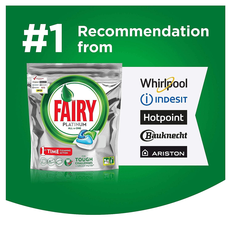 Fairy Platinum lavavajillas Tablets Original, 60 lavados - 2 ...