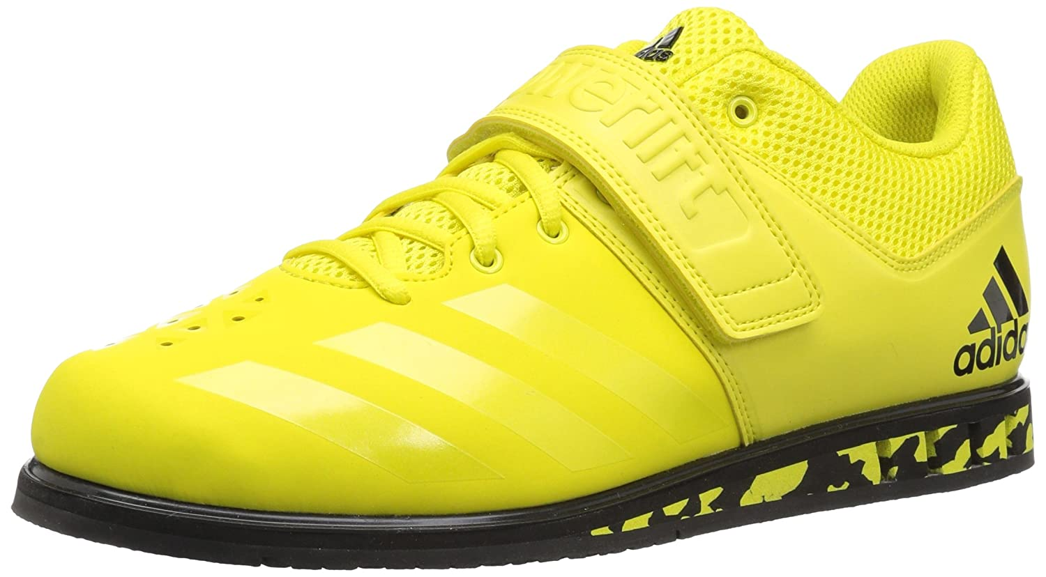 Shock Yellow Shock Yellow Black adidas Powerlift.3.1 shoes Men's Weightlifting