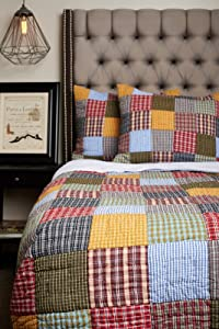 Be-You-tiful Home Connor Quilt Set, King, Multi