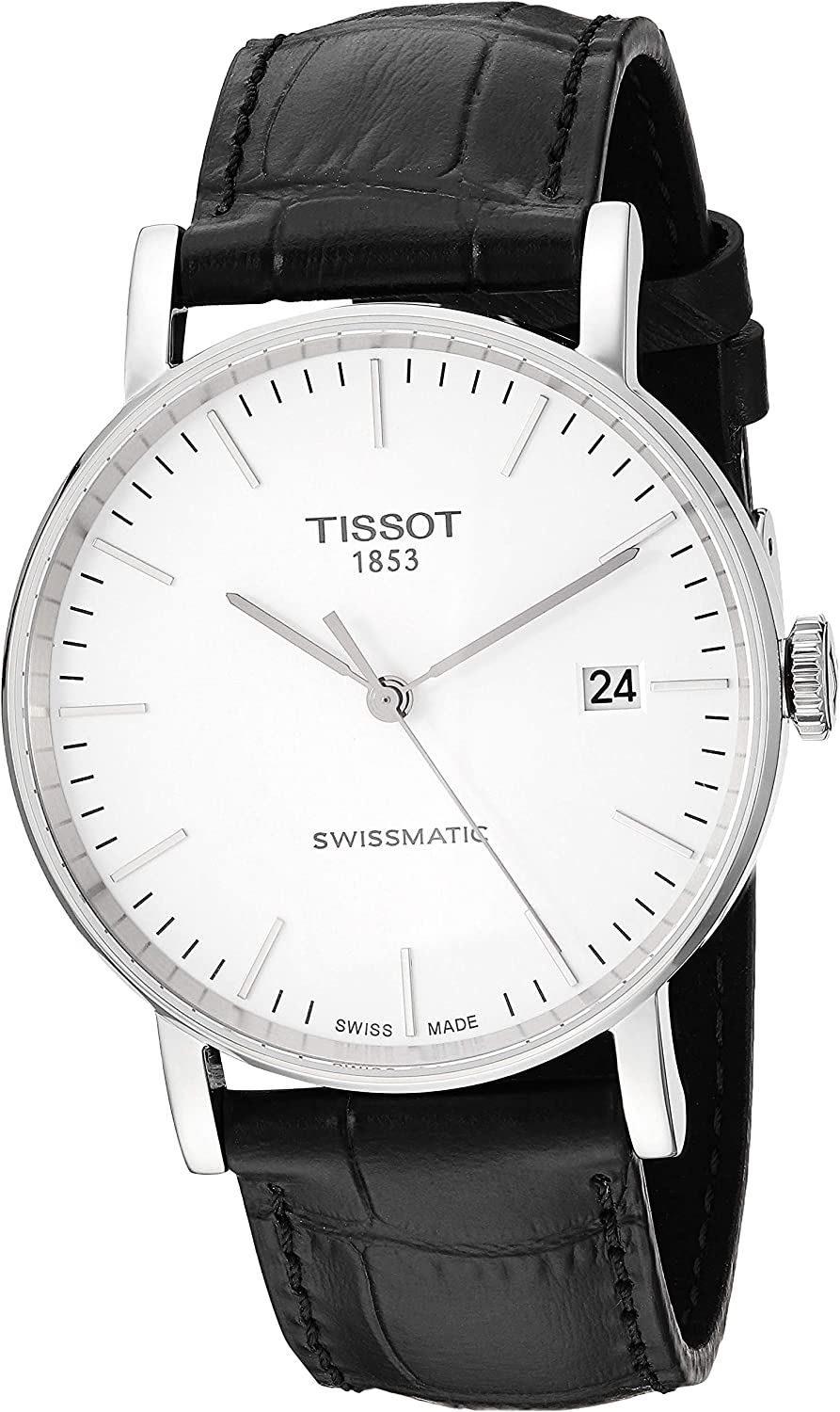 Tissot Mens Everytime Swiss Automatic Stainless Steel Casual Watch (Model: T1094071603100)