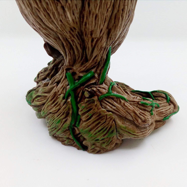 Keqi Baby Groot Pot De Fleur Figurine Daction Marvel De Guardians