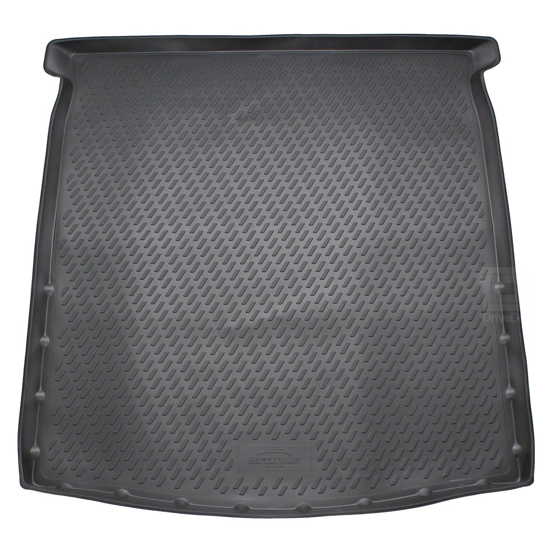 Novline MAT034 Custom Tailored Fit Black Rubber Boot Liner Tray Mat