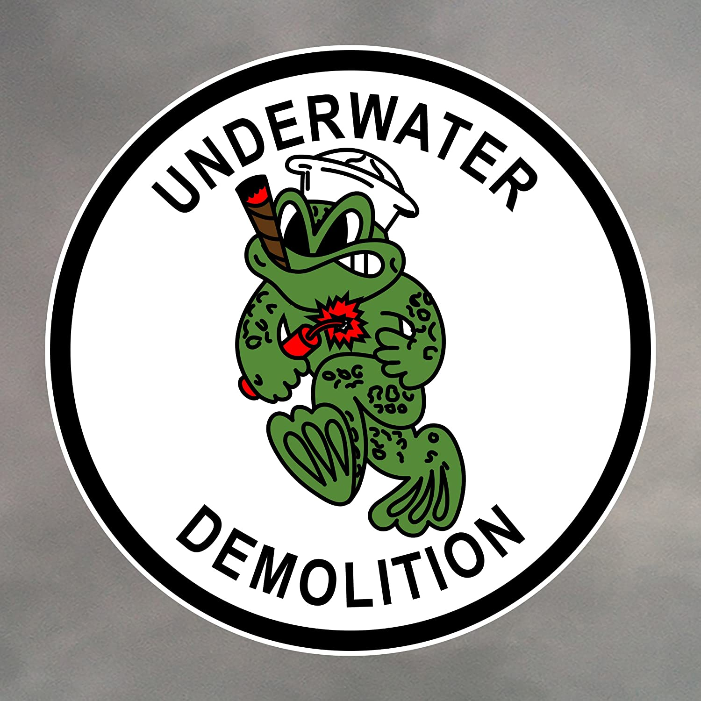 United States Navy Seal 4 inch Sticker