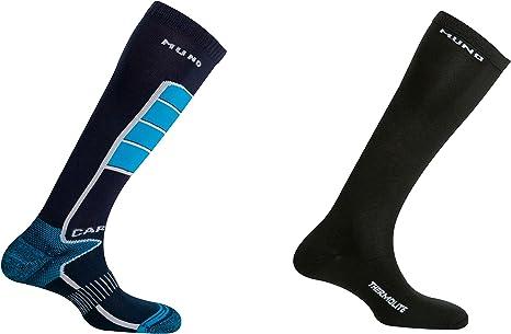 MUND Pack Calcetines esquí: Amazon.es: Deportes y aire libre