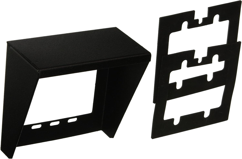 Valcom V-9910-BK Doorbox Weather Guard for Use with Valcom Doorplate Speakers, Black