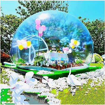 ZYJFP Garden Igloo Casa Inflable De La Tienda De La Burbuja, Tiendas De La Bóveda del Aire Transparente del Patio Trasero Que Acampa De La Familia Jardín (Personalizable),4MDiameter: Amazon.es: Hogar