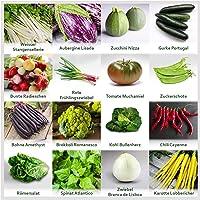 "Mezclar""hortalizas de jardín"" 16 x semillas (10-50 piezas) de hortalizas no comunes de Portugal / 100% natural (sin…"