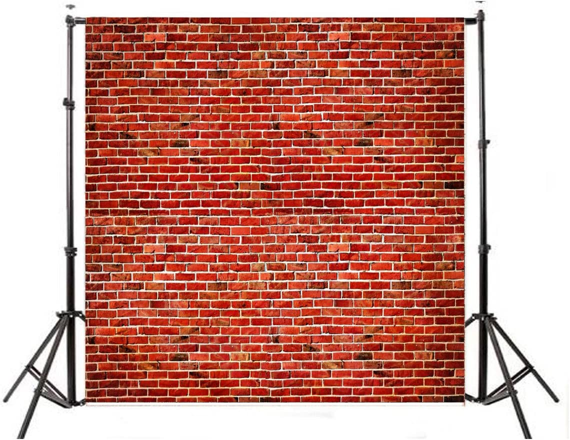 HIOFFER Mud Brick Wall Photo Backdrops Party Accessory Studio Multi-Style Background Decor Studio Props
